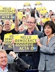"""ACTA – EU """"Democracy"""" in action"""